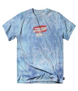 T-shirt Just Have Fun Chatterbox tee Bleu Ciel Tie And Dye