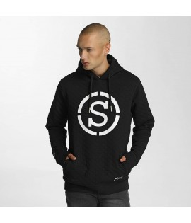 Sweat Capuche Who Shot Ya? Quilted Hoody Noir
