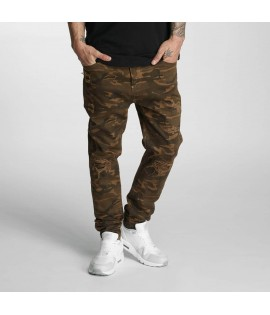 Jeans AntiFit Who Shot Ya? Genius Brun Camouflage
