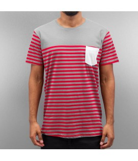 T-shirt Cazzy Clang  Strong Rouge Gris
