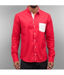 Chemise Cazzy Clang Quinn Rouge