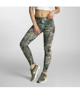 Legging Thug Life Broon Camouflage