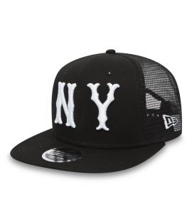 Casquette Filet New Era New York Yankees Mesh 9Fifty Noir