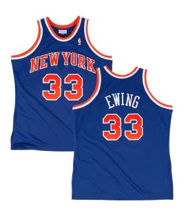 Maillot Basketball Mitchell & Ness New York Knicks HWC Swingman Patrick Ewing