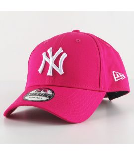 Casquette Incurvée New Era New York Yankees Brights 9Forty Rose Fuchsia
