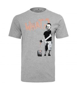 T-shirt What Boy Mister Tee Gris