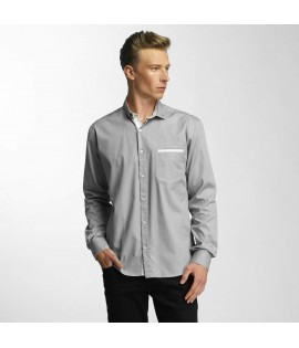 Chemise Cazzy Clang Squares Gris