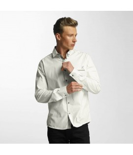 Chemise Cazzy Clang Squares Blanc