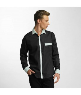 Chemise Cazzy Clang Leeong Noir