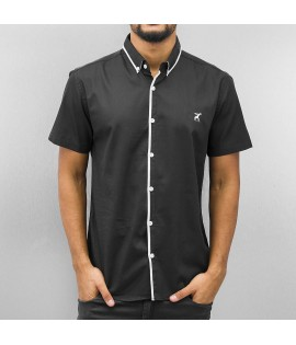 Chemise manches courtes Cazzy Clang Noir Blanc