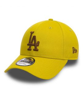 Casquette Incurvée New Era Los Angeles Dodgers Jaune