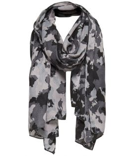 Chèche Only Brittany Camo Scarf Gris Camo
