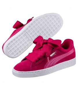 Chaussures Puma Suede Heart SNK Rose