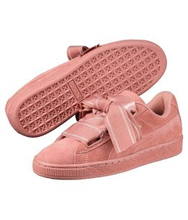 Chaussures Puma Suede Heart Satin II Cameo Brown Do You