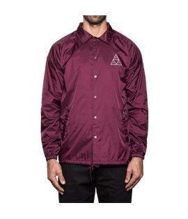 Veste HUF Triple Triangle Coachs Jacket Bordeaux