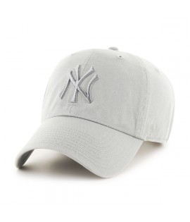 Casquette 47 Brand New York Yankees Clean Up Vintage  Gris