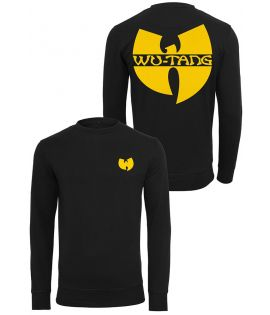 Sweat crewneck Wu Wear Wu-Tang Clan Noir Logo Noir Jaune
