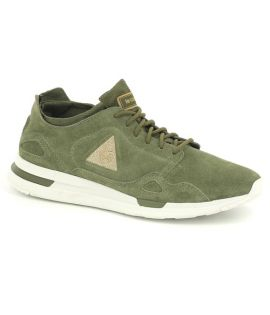 Chaussures Le Coq Sportif LCS R Suede Satin Olive Night