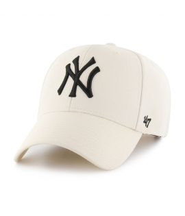 Casquette 47 Brand New York Yankees MVP SP Natural Blanc