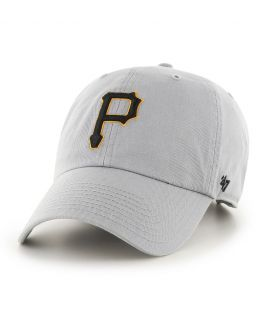Casquette 47 Brand Pittsburgh Pirates Vintage Clean Up Storm Gris