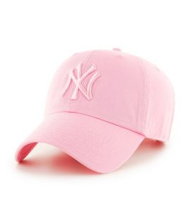 Casquette 47 Brand New York Yankees Clean Up Vintage Tonal Rose