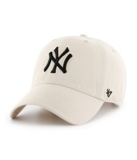 Casquette 47 Brand New York Yankees Clean Up Blanc Cassé
