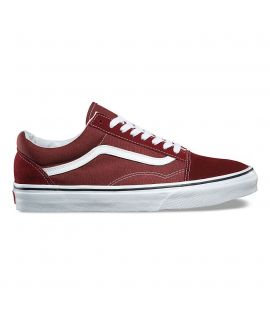 Chaussures Vans Old Skool Madder Brown Brun Blanc