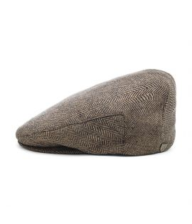 Casquette Béret Hooligan Snap Brown Kaki Brun