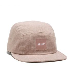 Casquette HUF Bursa Volley 5 Panel Rose
