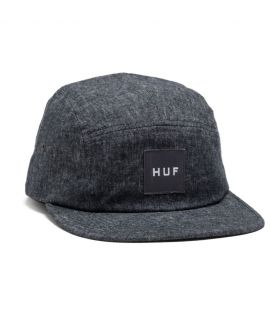Casquette HUF Bursa Volley 5 Panel Midnight Gris