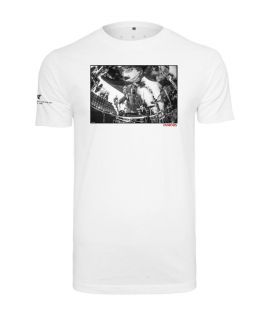 T-shirt FMS Sign Tee Famous Blanc