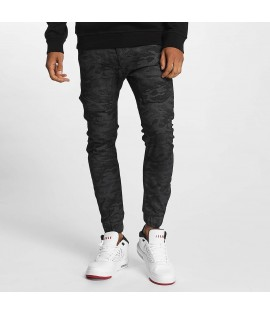 Jeans Who Shot Ya? K205 Slim Fit Camo Gris Camo