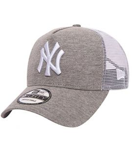 Casquette Trucker New Era New York Yankees Jersey Essential Truck Gris