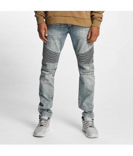 Jeans Who Shot Ya? Scissa Antifit Bleu