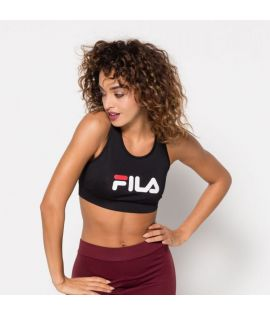Brassiere Fila Other Crop Top Sport Noir