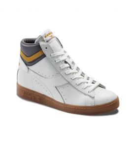 Chaussures Montantes Diadora Heritage Game High Blanc Incagold