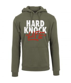 Sweat Capuche Mister Tee Hard Knock Hoody Olive