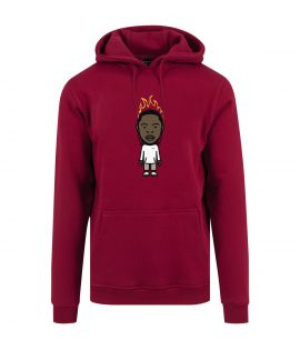 Sweat Capuche Mister Tee KDOT Hoody Ruby