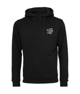 Sweat Capuche Mister Tee If Your Mother Only Knew Hoody Noir