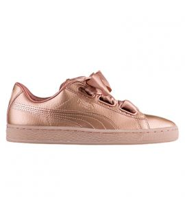 Chaussures Puma Basket Patent Heart Cooper Rose Do You