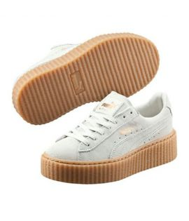 Chaussures Puma x Fenty Rihanna Suede Creepers Select Blanc