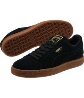 Chaussures Puma Suede Classic Gld Noir Or