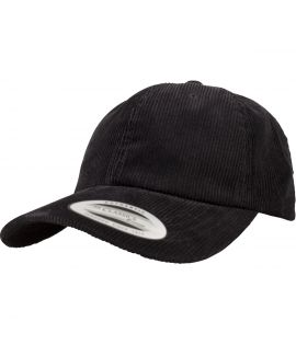 Casquette Velours Noir Flexfit Low Profile