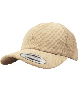 Casquette Velours Flexfit Corduroy Dad Low Profile Kaki