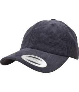 Casquette Velours Flexfit Corduroy Dad Low Profile Bleu marine