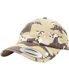 Casquette Camouflage Flexfit Curved Low Profile Retro desert camo