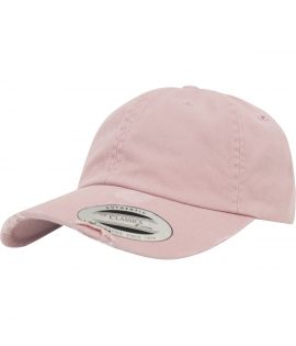 Casquette Incurvée Flexfit Low Profile Destroyed Rose