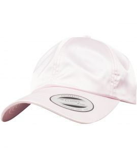 Casquette Incurvée Flexfit Low Profile Satin rose