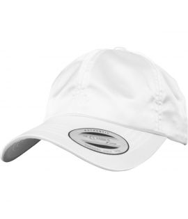 Casquette Incurvée Flexfit Low Profile Satin Blanc