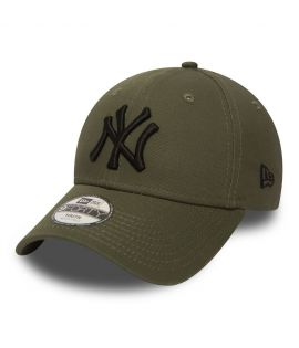 Casquette Adolescent New Era New York Yankees Olive Youth 9Forty